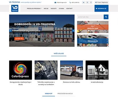 VD-TRGOVINA - Prodaja građevinskog materijala, alata, pribora i opreme