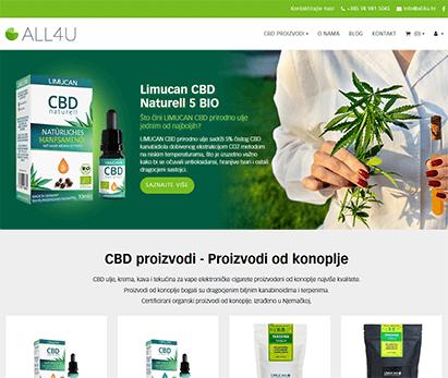 ALL4U CBD proizvodi